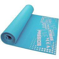 Lifefit Slimfit gimnasztikai szőnyeg, könnyű, türkiz - Fitnesz szőnyeg