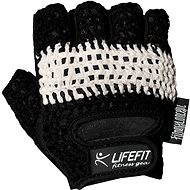 Lifefit Fit fekete/fehér L - Kesztyű