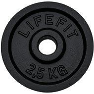 Lifefit súlytárcsa 2,5kg / 30mm-es rúdhoz - Súlytárcsa