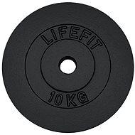 Lifefit súlytárcsa 10kg / 30mm-es rúdhoz - Súlytárcsa