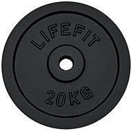 Lifefit súlytárcsa 20kg / 30mm-es rúdhoz - Súlytárcsa