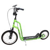 "Lifefit Rider 16""/12"" zöld/fekete - Roller"