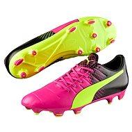 PUMA Evo Power 3.3 FG glo-safe Stoplis cipő, rózsaszín, 8-as méret - Stoplis cipő