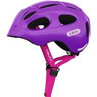 Kerékpáros sisak ABUS Youn-I sparkling purple