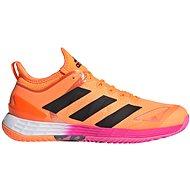 Adidas adizero Ubersonic 4 narancssárga / fekete EU 42,5 / 259 mm - Teniszcipő