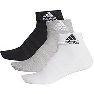 Adidas Light 3 pár fekete/szürke/fehér 40 - 42 EU méret