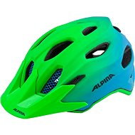 Alpina Carapax Jr. Flash green-blue M
