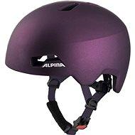 Alpina Hackney Dark-Violet 47-51 cm - Kerékpáros sisak
