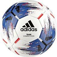 Adidas TEAM Competitio, WHITE/BLUE/BLACK/SOLR - Futball labda