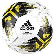 Adidas TEAM TrainingPr, WHITE/SYELLO/BLACK/IR - Futball labda