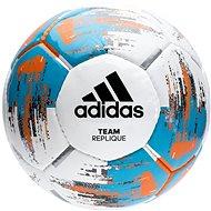 Adidas TEAM Replique, WHITE/BRCYAN/BORANG - Futball labda