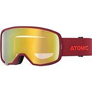 Atomic REVENT STEREO Red - Síszemüveg