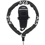 AXA Plugin RLC + saddle bag 100/5,5 - Kerékpár zár