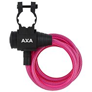 AXA Zipp 120/8 kulcsos rózsaszín - Zár