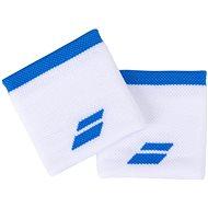 Babolat Jumbo Wristband Logo wh.-blue aster - Csuklópánt