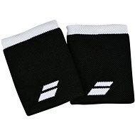 Babolat Jumbo Wristband Logo bk.-white - Csuklópánt
