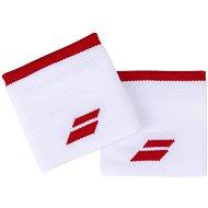 Babolat Wristband Logo wh.-tomato red - Csuklópánt