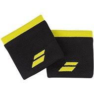 Babolat Wristband Logo bk.- yellow - Csuklópánt