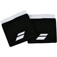 Babolat Wristband Logo bk.-white - Csuklópánt
