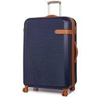Valiant rock TR-0159/3-XL ABS - kék - TSA záras utazóbőrönd