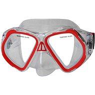 CALTER búvár szemüveg és búvármaszk JUNIOR 4250P,  piros - Búvárszemüveg