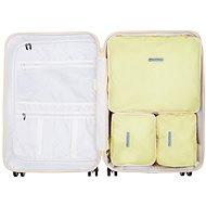 Suitsuit Perfect Packing system védőborító szett M méret Mango Cream - Packing Cubes