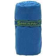 SHERPA Dry Towel, kék, L - Törölköző