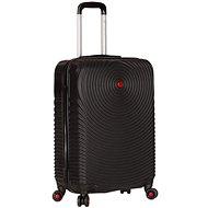 Sirocco T-1157/3-S ABS - fekete - TSA záras bőrönd