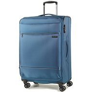 Rock TR-0161/3-M - kék - TSA záras bőrönd