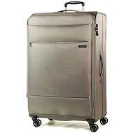Rock TR-0161/3-L - bézs - TSA záras bőrönd