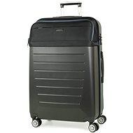 Rock TR-0166/3-L ABS/PES - fekete - TSA záras bőrönd