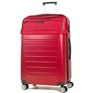 ROCK TR-0166/3-L ABS / PES - piros - TSA záras bőrönd