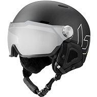 Bollé Might Visor Premium Mips Black Matte Photochromic Silver Mirror Lens Cat 1-2, L méret (59-62 cm) - Sísisak
