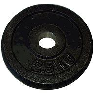 Brother 2,5 kg fekete - 25 mm - Súlytárcsa