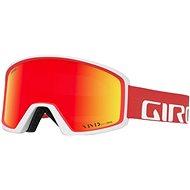 GIRO Blok Red/White Apex Vivid Ember - Síszemüveg