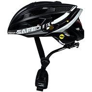 Kerékpáros sisak Varnet Safe-Tec TYR 3 Black-Silver