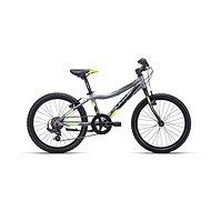 """CTM JERRY 1.0, szürke/sárga, mérete 11"""" - Gyerek kerékpár 20"""""""