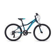"""CTM ROCKY 2.0, petróleumkék/kék, mérete 13"""" - Gyerek kerékpár 24"""""""
