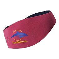 Konfidence Aquaband felnőtteknek, rózsaszín - Neoprén fejpánt
