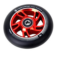 Street Surfing freestyle roller, 100x24mm, Alu piros mag, 1 db - Kerekek
