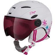 Etape Rider Pro Fehér/Rózsaszín Matt, 53 - 55 cm-es méret - Sísisak