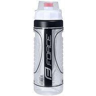 Force HEAT termopalack 0,5 l, fehér-fekete - Ivó palack