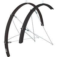 Force 36 Aluflex Road XL + rugók, fekete - Bicikli sárvédő