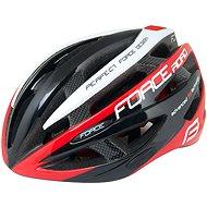 Force ROAD - fekete-piros-fehér - Kerékpáros sisak