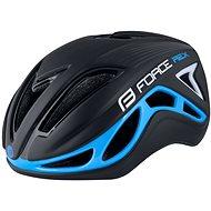 Kerékpáros sisak Force REX - fekete-kék, L-XL, 58-61 cm