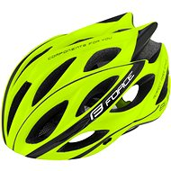 Kerékpáros sisak Force BULL - fluo-fekete