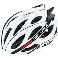 Force BULL - fehér-fekete - Kerékpáros sisak