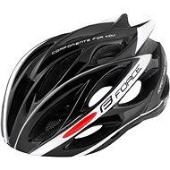 Force BULL - fekete-fehér - Kerékpáros sisak