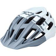 Kerékpáros sisak Force CORELLA MTB - szürke-fehér, S-M, 54-58 cm