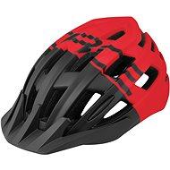 Force CORELLA MTB - fekete-piros, S-M, 54-58 cm - Kerékpáros sisak